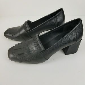 Kenneth Cole Reaction chunky heeled loafer
